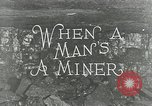 Image of American miners United States USA, 1924, second 2 stock footage video 65675076901