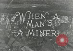 Image of American miners United States USA, 1924, second 3 stock footage video 65675076901