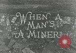 Image of American miners United States USA, 1924, second 4 stock footage video 65675076901