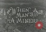 Image of American miners United States USA, 1924, second 5 stock footage video 65675076901
