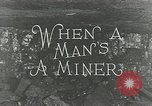 Image of American miners United States USA, 1924, second 6 stock footage video 65675076901