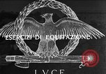 Image of Italian aviation cadets Caserta Italy, 1943, second 1 stock footage video 65675076929