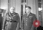 Image of army officers North Africa, 1943, second 1 stock footage video 65675076948