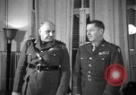 Image of army officers North Africa, 1943, second 2 stock footage video 65675076948