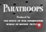 Image of American paratroopers United States USA, 1943, second 12 stock footage video 65675076952