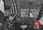 Image of French civilians Luxeuil-Les-Bains France, 1944, second 9 stock footage video 65675076967