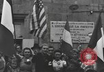 Image of French civilians Luxeuil-Les-Bains France, 1944, second 11 stock footage video 65675076967