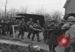 Image of American paratroopers greeted by civilians Nijmegen Netherlands, 1944, second 3 stock footage video 65675076980