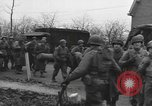 Image of American paratroopers greeted by civilians Nijmegen Netherlands, 1944, second 4 stock footage video 65675076980