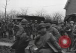 Image of American paratroopers greeted by civilians Nijmegen Netherlands, 1944, second 6 stock footage video 65675076980