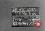Image of 101st Airborne Division Germany, 1945, second 5 stock footage video 65675076992