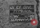 Image of 101st Airborne Division Germany, 1945, second 2 stock footage video 65675076993