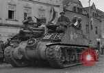 Image of 4th Armored Division Susice Czechoslovakia, 1945, second 8 stock footage video 65675076999