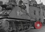 Image of 4th Armored Division Susice Czechoslovakia, 1945, second 9 stock footage video 65675076999