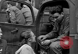 Image of US 16th Armored Division in Pilsen Czechoslovakia Pilsen Czechoslovakia, 1945, second 6 stock footage video 65675077026