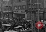 Image of US 16th Armored Division in Pilsen Czechoslovakia Pilsen Czechoslovakia, 1945, second 9 stock footage video 65675077026