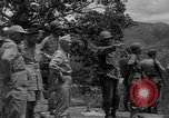 Image of army officers Luzon Island Philippines, 1945, second 2 stock footage video 65675077040