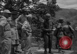 Image of army officers Luzon Island Philippines, 1945, second 3 stock footage video 65675077040