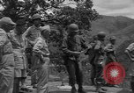 Image of army officers Luzon Island Philippines, 1945, second 5 stock footage video 65675077040