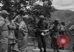 Image of army officers Luzon Island Philippines, 1945, second 10 stock footage video 65675077040