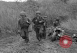 Image of US troops of 103rd Infantry Regiment in Philippines Philippines, 1945, second 2 stock footage video 65675077041