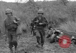 Image of US troops of 103rd Infantry Regiment in Philippines Philippines, 1945, second 4 stock footage video 65675077041