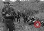 Image of US troops of 103rd Infantry Regiment in Philippines Philippines, 1945, second 8 stock footage video 65675077041