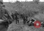 Image of US troops of 103rd Infantry Regiment in Philippines Philippines, 1945, second 9 stock footage video 65675077041