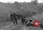 Image of US troops of 103rd Infantry Regiment in Philippines Philippines, 1945, second 10 stock footage video 65675077041