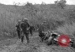 Image of US troops of 103rd Infantry Regiment in Philippines Philippines, 1945, second 11 stock footage video 65675077041
