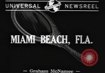 Image of American models Miami Beach Florida USA, 1941, second 2 stock footage video 65675077057