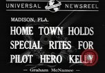Image of Colin P Kelly Madison Florida USA, 1941, second 9 stock footage video 65675077060