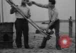 Image of First liquid fuel rocket is launched from Staten Island in New York Staten Island New York USA, 1933, second 7 stock footage video 65675077065