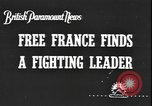 Image of General Charles de Gaulle calls upon France to continue fighting in WW France, 1940, second 1 stock footage video 65675077068