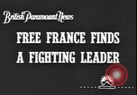 Image of General Charles de Gaulle calls upon France to continue fighting in WW France, 1940, second 2 stock footage video 65675077068