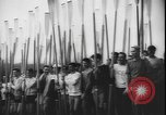 Image of College Students rowing boats Washington State United States USA, 1943, second 9 stock footage video 65675077072