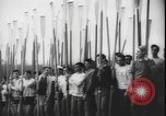 Image of College Students rowing boats Washington State United States USA, 1943, second 10 stock footage video 65675077072
