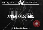 Image of midshipmen Annapolis Maryland USA, 1940, second 1 stock footage video 65675077091