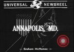 Image of midshipmen Annapolis Maryland USA, 1940, second 2 stock footage video 65675077091