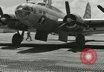 Image of DB-17P aircraft Enewetak Atoll Marshall Islands, 1946, second 9 stock footage video 65675077098