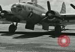 Image of DB-17P aircraft Enewetak Atoll Marshall Islands, 1946, second 11 stock footage video 65675077098