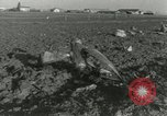 Image of Military transport aircraft crash Alvarado California USA, 1953, second 11 stock footage video 65675077111