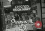 Image of Book store owner Pabel faces deportation Chicago Illinois USA, 1953, second 2 stock footage video 65675077114