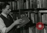 Image of Book store owner Pabel faces deportation Chicago Illinois USA, 1953, second 5 stock footage video 65675077114
