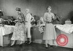 Image of French models Paris France, 1953, second 9 stock footage video 65675077116