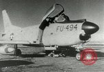 Image of sabre jet United States USA, 1953, second 7 stock footage video 65675077117