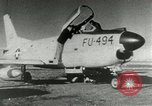 Image of sabre jet United States USA, 1953, second 9 stock footage video 65675077117