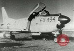 Image of sabre jet United States USA, 1953, second 10 stock footage video 65675077117