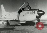 Image of sabre jet United States USA, 1953, second 11 stock footage video 65675077117