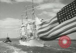 Image of Norwegian sailing ship New York United States USA, 1957, second 8 stock footage video 65675077119